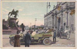 Mitte-Berlin Schlossfreiheit - Ausfahrt des Kaisers 1918