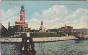 Holtenau-Kiel Leuchtturm und Kaiser-Wilhelm-Denkmal