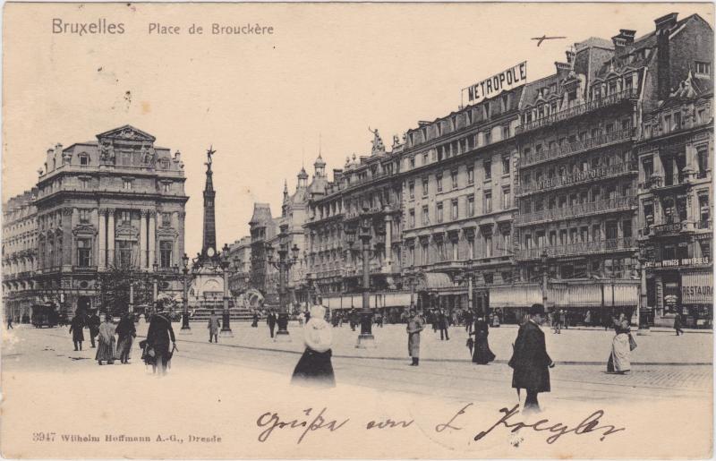 Brüssel Place de Brouckere