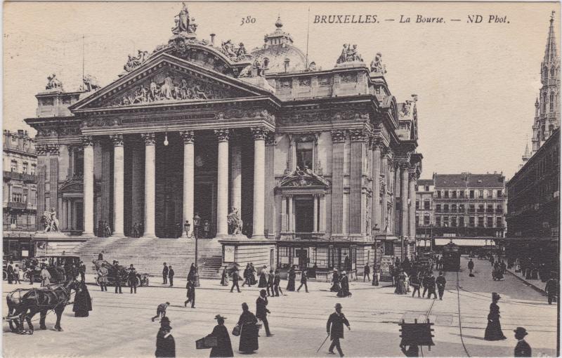 Brüssel La Bourse