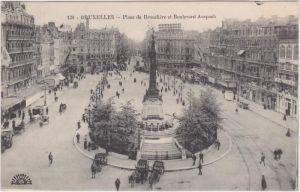 Brüssel Place de Brouckere et Boulevard Anspach
