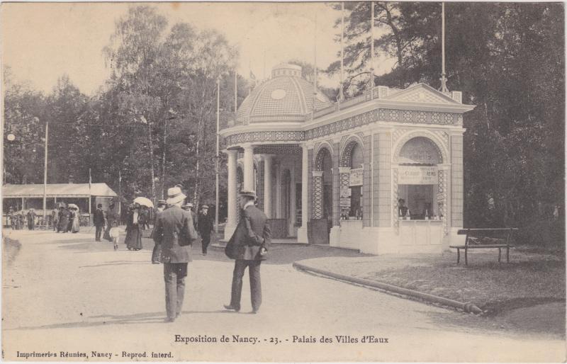 Nancy Exposition Nancy - Palais des Villes d´Eaux