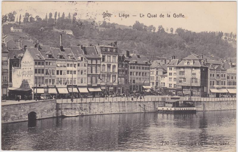 Lüttich Le Quai de la Goffe