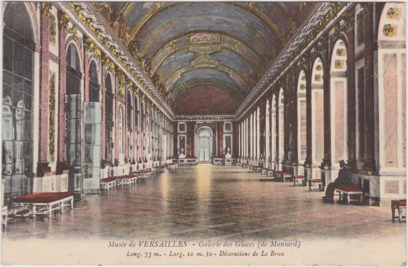 Versailles Musée de Versailles - Galerie des Glaces