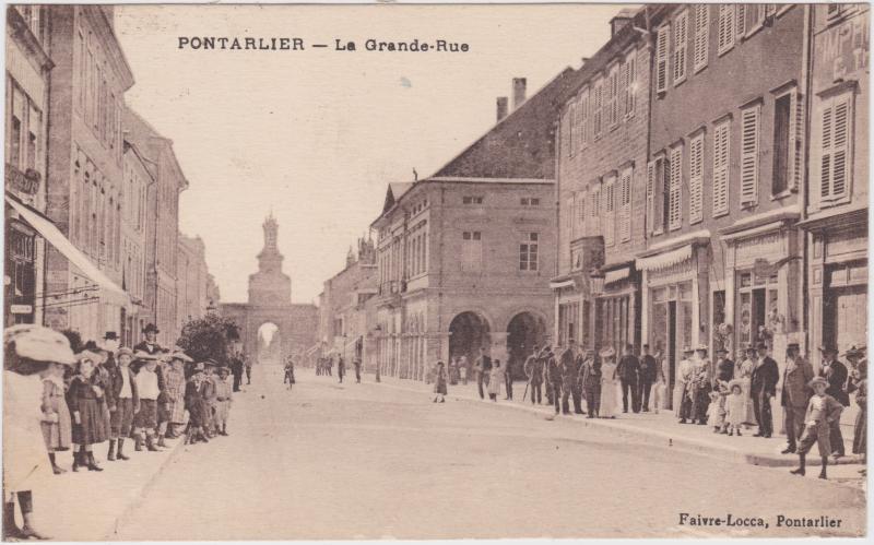 Pontarlier La Grande-Rue