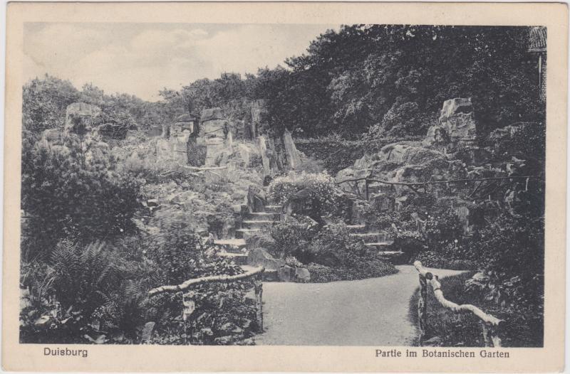 Duisburg Partie im Botanischen Garten
