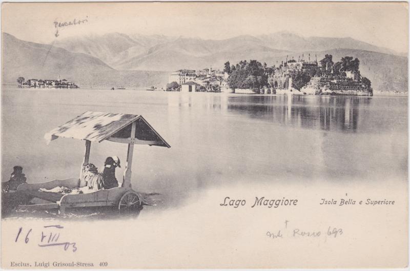 Stresa Isola Bella im Lago Maggiore