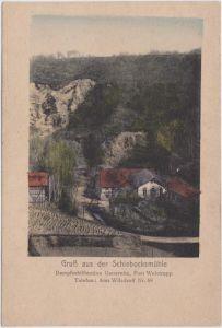 Kleinschönberg-Klipphausen Schiebockmühle Dampfschiffstation Gauernitz