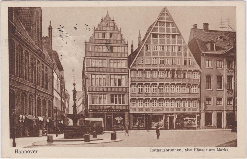 ak langensalza markt mit rathausbrunnen nr 7851694 oldthing ansichtskarten deutschland plz. Black Bedroom Furniture Sets. Home Design Ideas