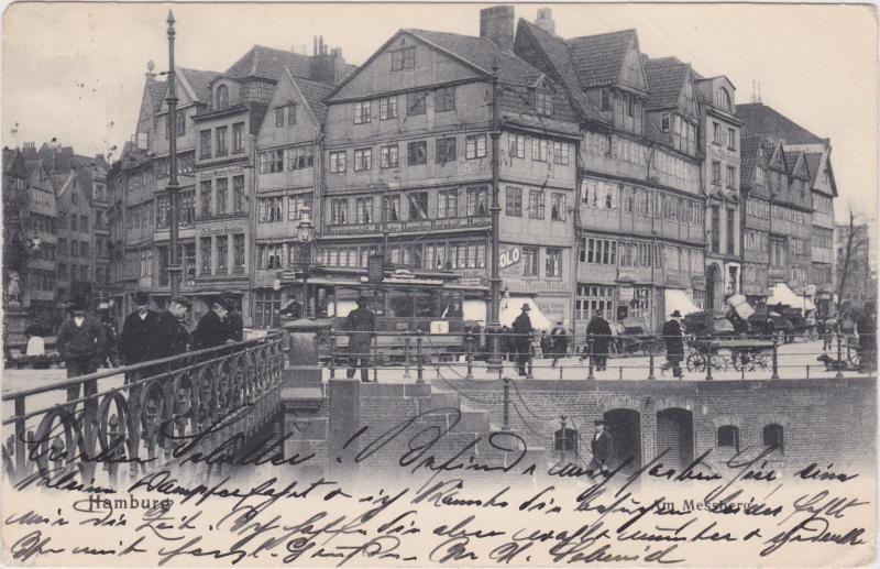 Altstadt-Hamburg Am Messberg, Straßenbahn