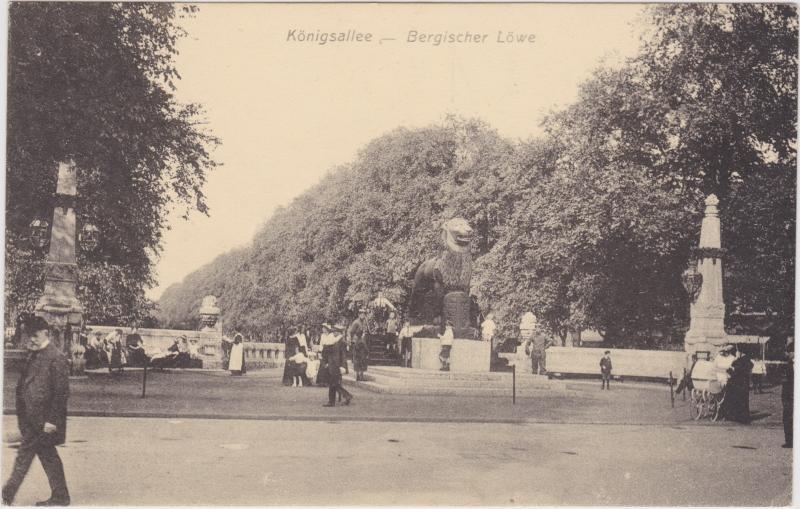 Düsseldorf Königsallee - Bergischer Löwe