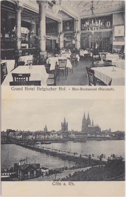 Köln Grand Hotel Belgischer Hof (Bierstall)