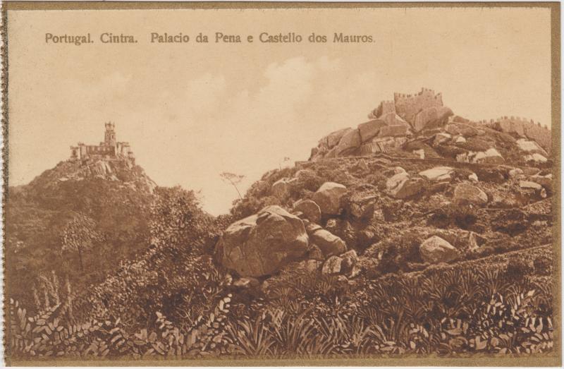 Sintra Palacio da Pena e Castello dos Mauros
