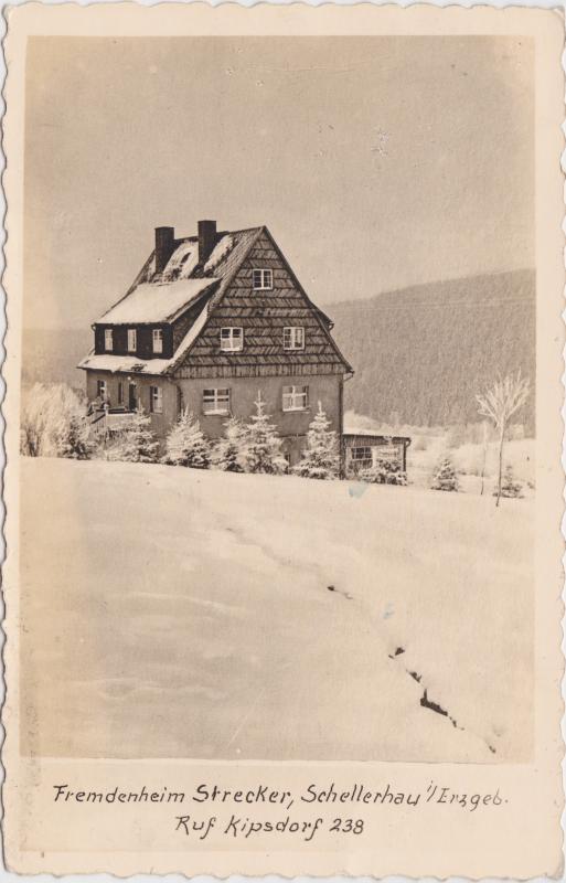 Schellerhau-Altenberg (Erzgebirge) Fremdenheim Strecker