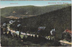 Oberbärenburg-Altenberg (Erzgebirge) Schäfermühle und Bärenburg Panorama