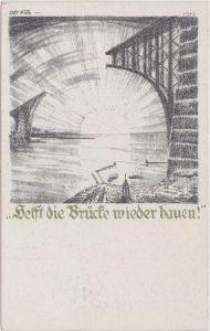 Rückwanderer Hilfe - 1923 - Helft die Brücke bauen