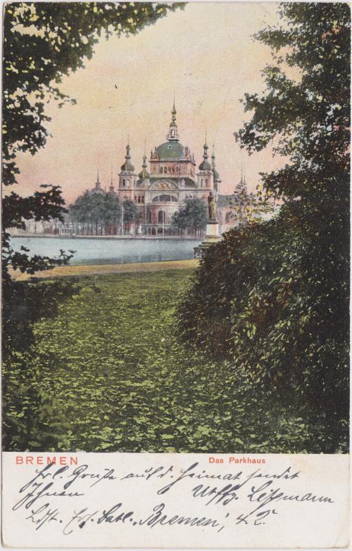 Bremen Blick auf das Parkhaus
