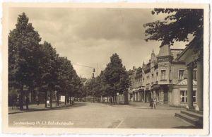 Senftenberg (Niederlausitz) Bahnhofstraße (Foto Ak)