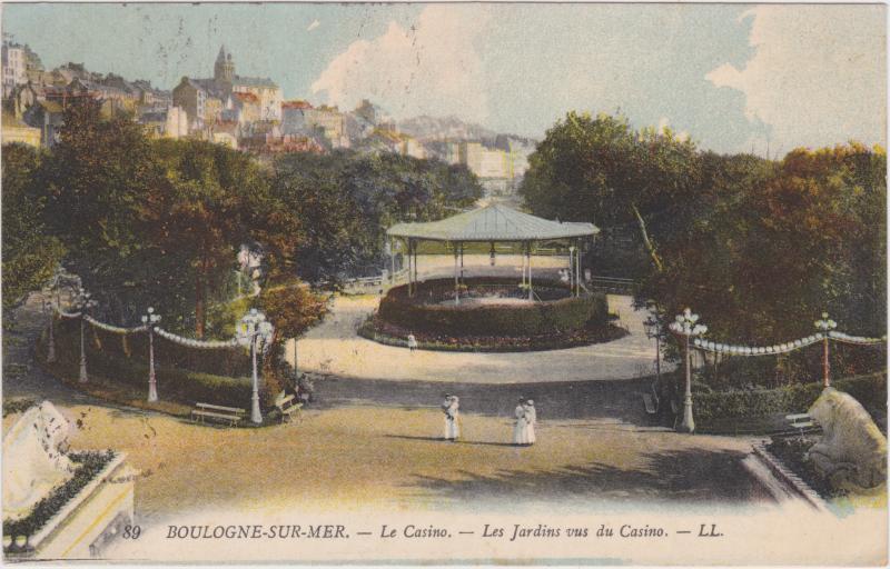 Boulogne-sur-Mer Le Casino - Les Jardins