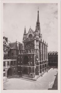 Paris La Sainte Chapelle CPA Ansichtskarte 1965