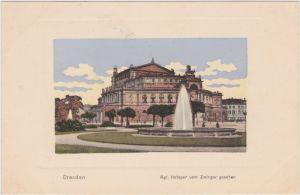 Innere Altstadt-Dresden Semperoper