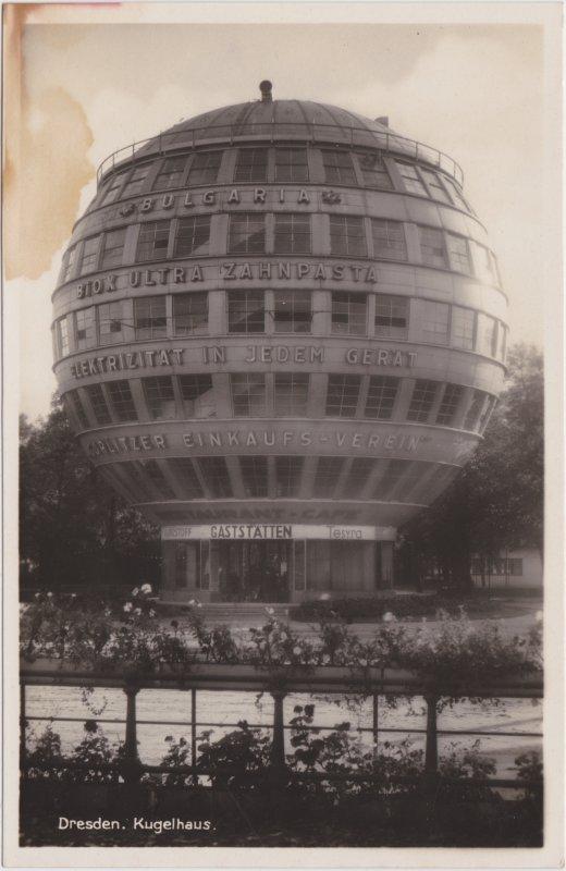 Dresden Partie am Kugelhaus