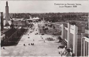 Roubaix Exposition du Progres Social - Blick über das Gelände