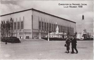 Roubaix Exposition du Progres Social - Halle und Pavillon