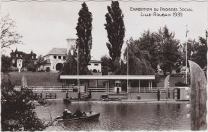Roubaix Exposition du Progres Social - Anlegestelle