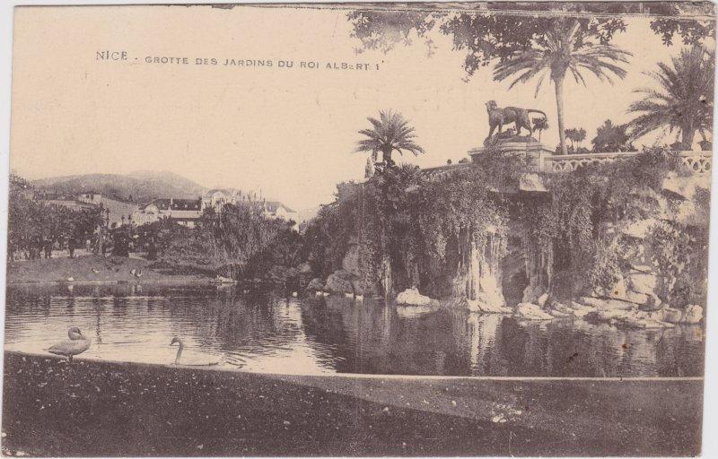Nizza Nice Grotte des Jardins du Roi Albert 1 Alpes-Maritimes 1916