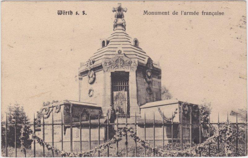 Wörth an der Sauer Monument de l´armee francaise