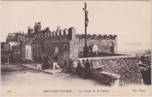 Boulogne-sur-Mer Le Christ de la Falaise