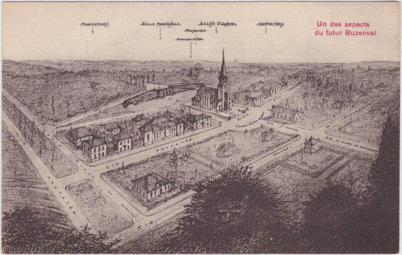 Buzenval-Paris Un des aspects du futur