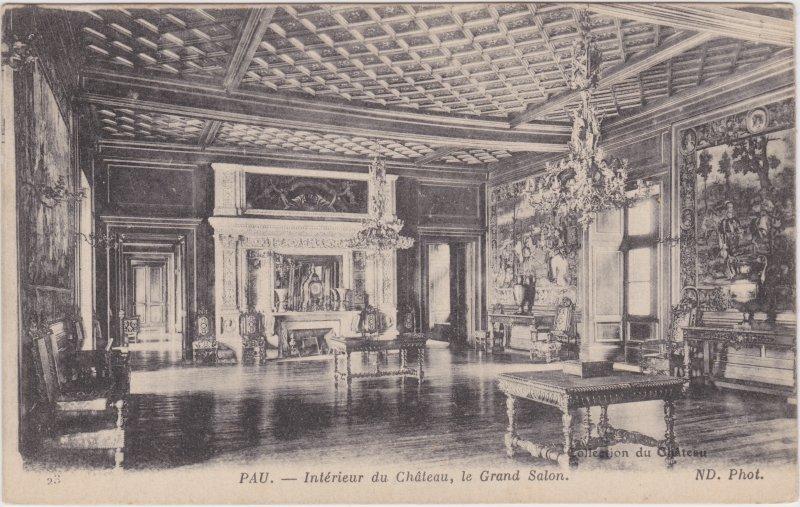 Pau (Pyrénées-Atlantiques) Interieur du Chateau, Grand Salon