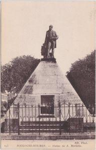 Boulogne-sur-Mer Statue de Mariette