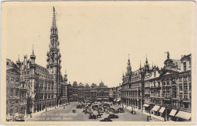 Brüssel Grand Place et Hotel de Ville