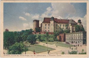 Krakau Partie am Wawel