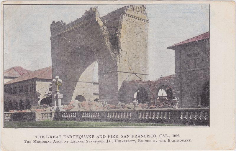 San Francisco Great Earthquake 1906