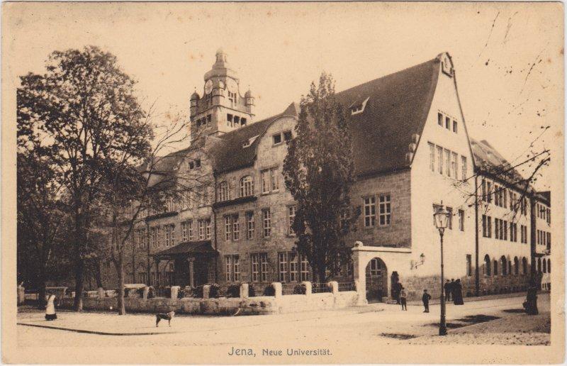 Jena Partie an der Neuen Universität