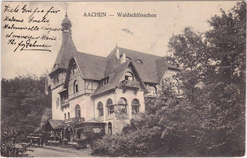 Aachen Partie am Waldschlösschen