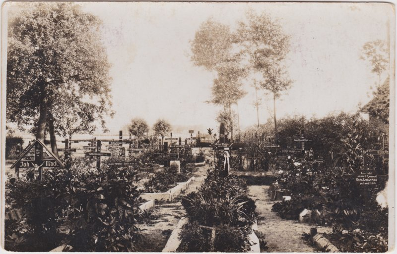 Militärfriedhof - Erster Weltkrieg