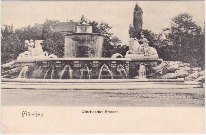 München Wittelsbacher Brunnen