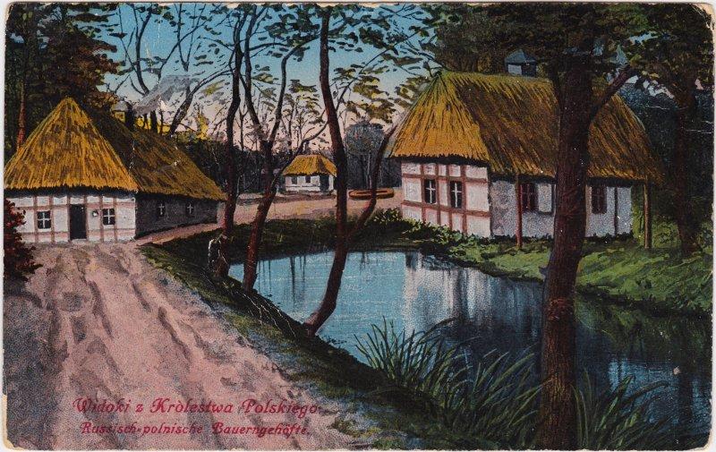 Polen (Allgemein) Russich-Polnisches Bauerngehöft