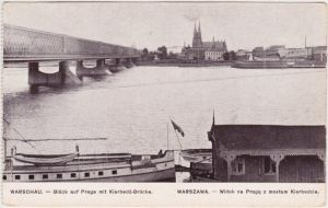 Praga-Warschau Widok na Praga