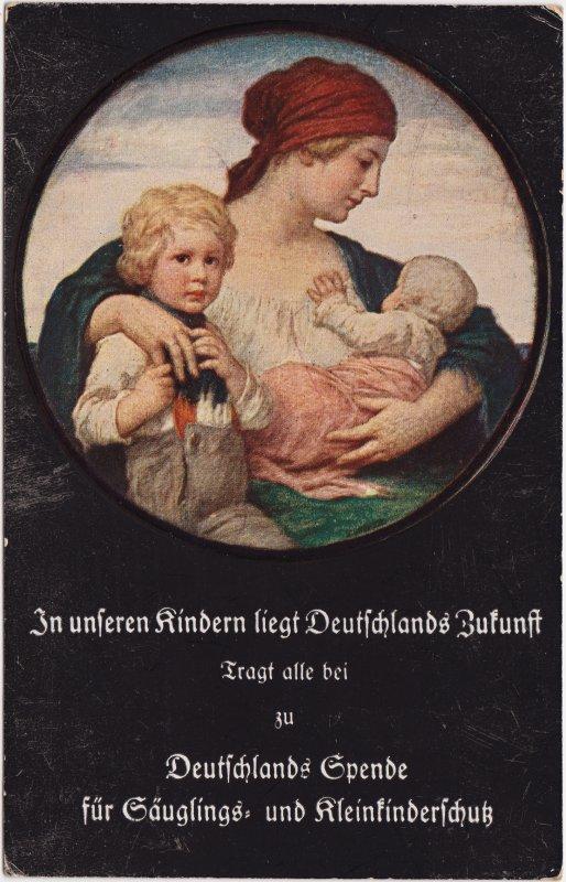 Deutsche Spende für Säuglings und Kleinkinderschutz 1923
