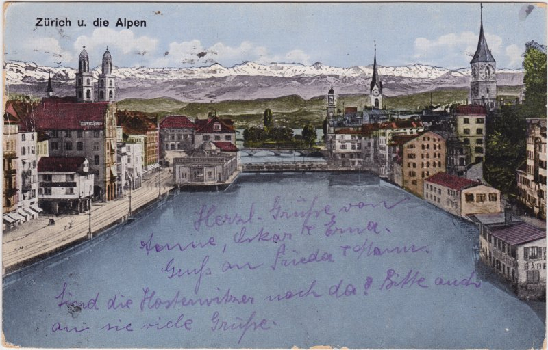 Zürich Panorama 1923
