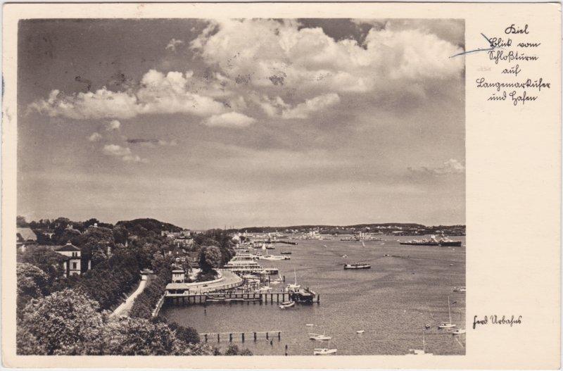 Kiel Blick auf den Hafen