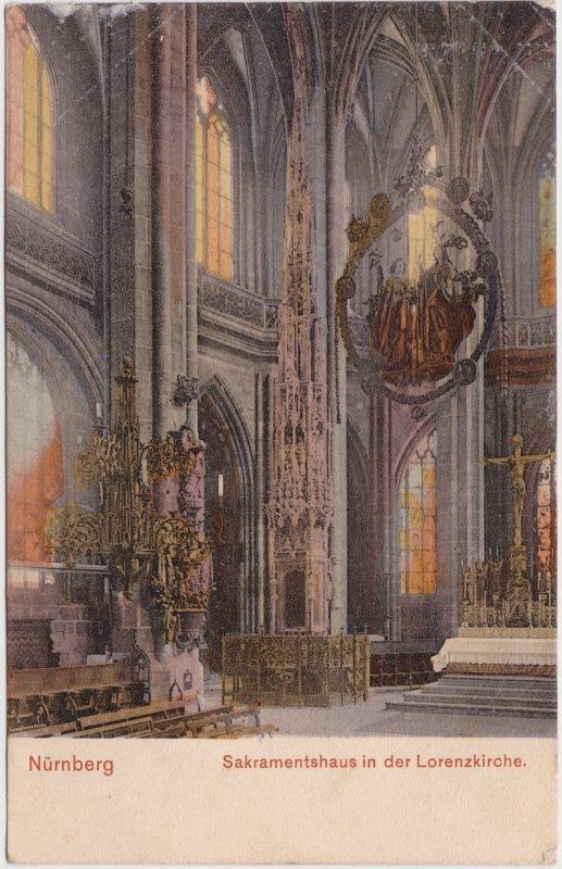 Nürnberg Sakramentshaus in der Lorenzkirche