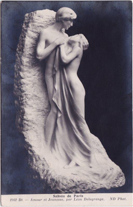 Salons de Paris, Amour et Jenesse (León Delagrange) 1912