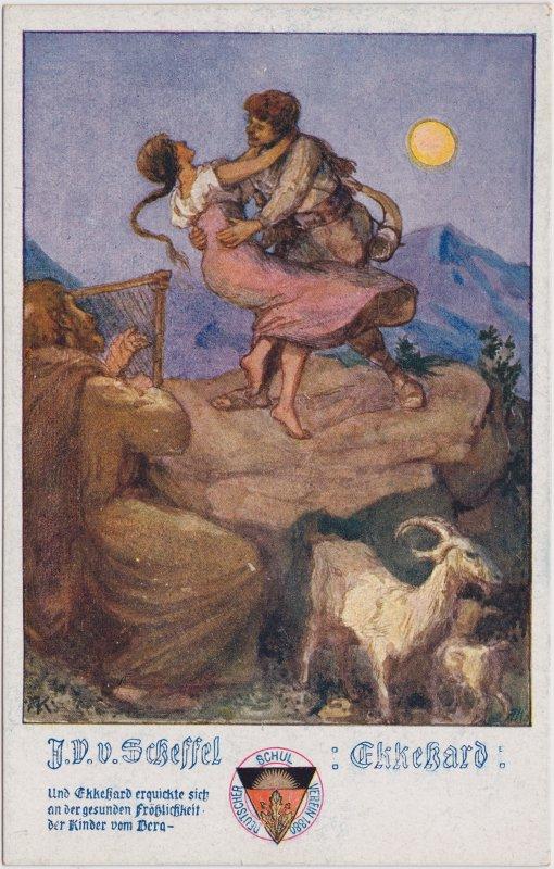 Illustration zum Roman